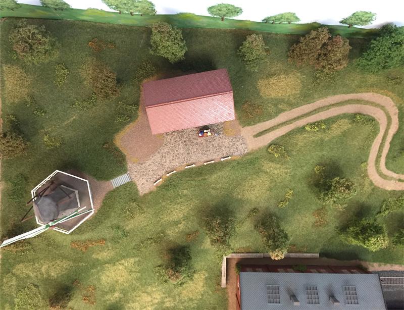 Mühle mit Nebengebäude
