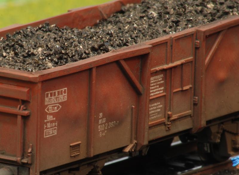 Detailansicht Kohlewagen