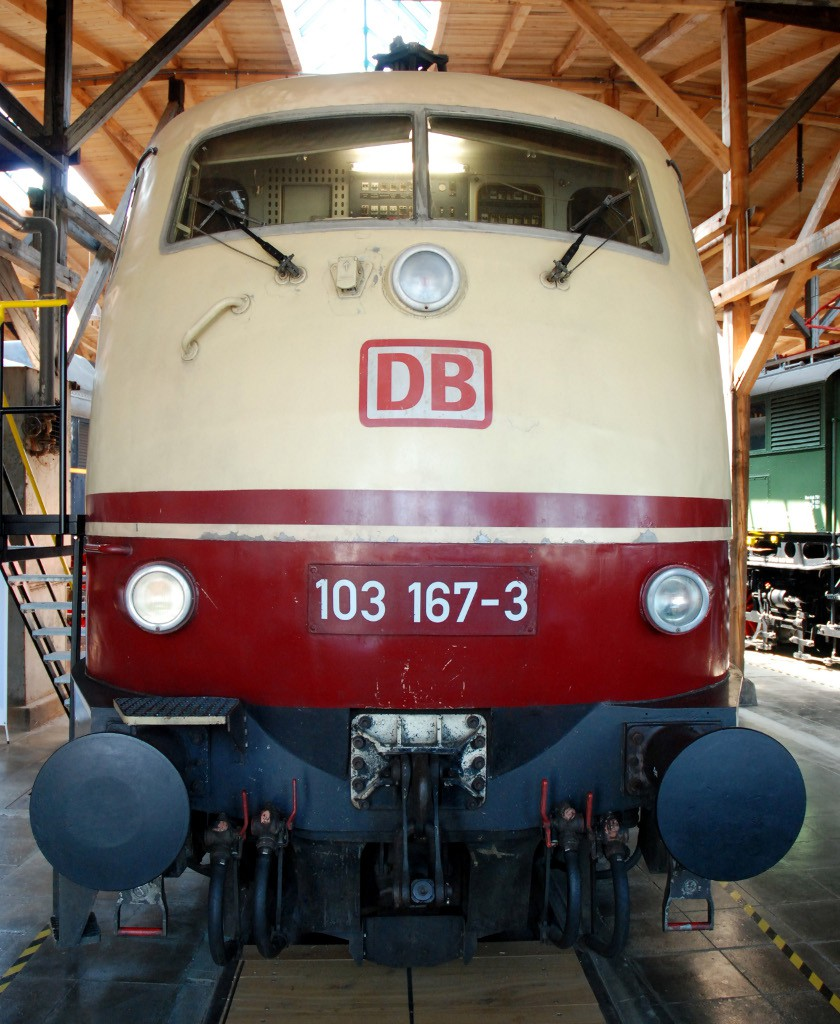 Lokwelt Freilassing - 103 167-3