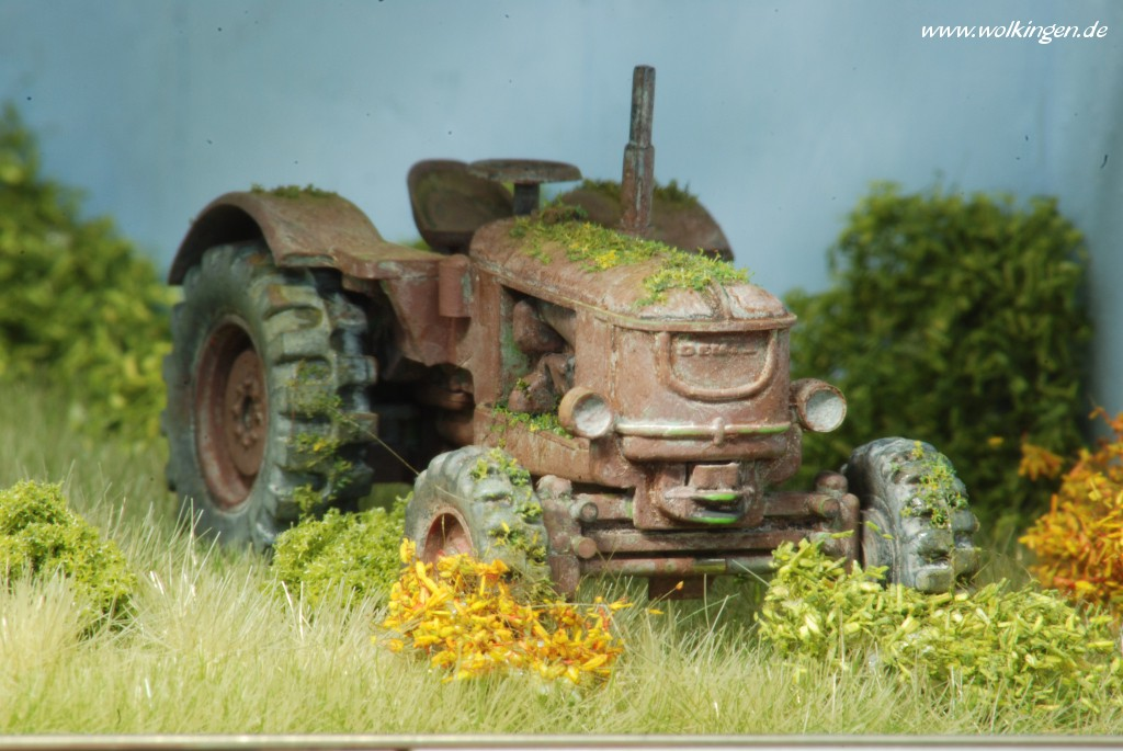 rostiger Deutz Traktor