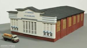 Colorierte Fassade