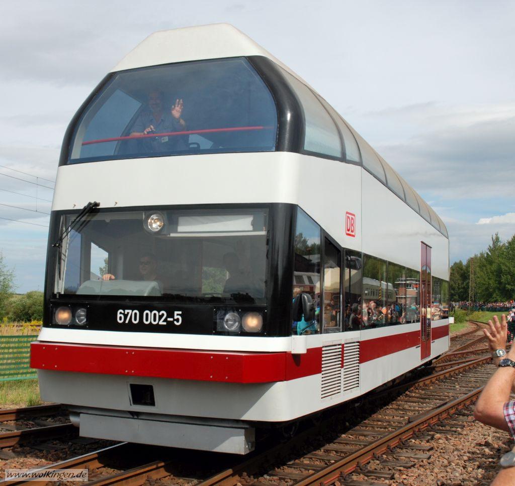 Lokparade - Doppelstocktriebwagen