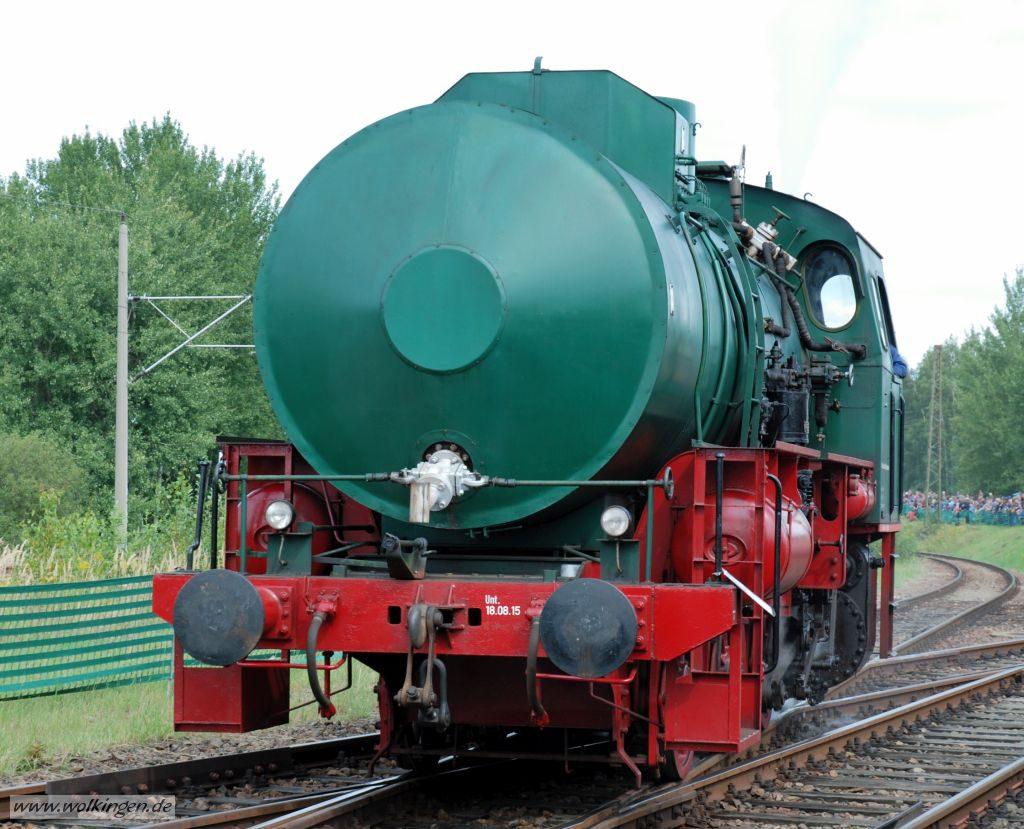 Lokparade - Dampfspeicherlok