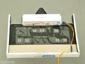 Einbau der Beleuchtung mit SMD-LED