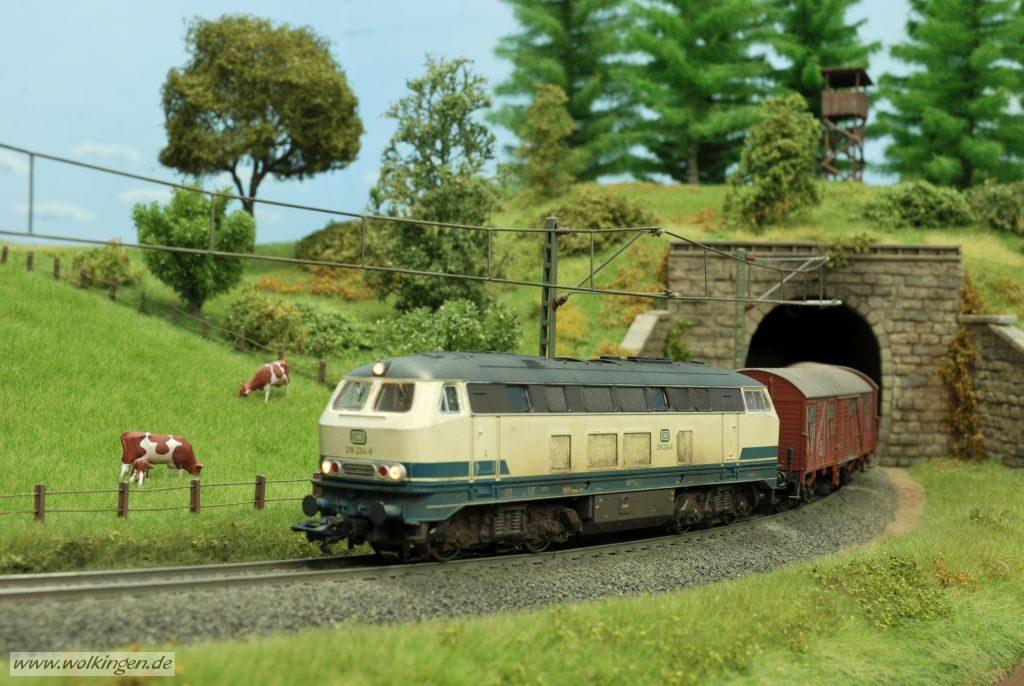 Alterung BR 218 - Tunnelausfahrt