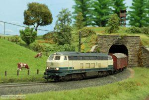 Alterung BR 216 - Tunnelausfahrt