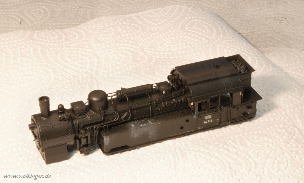BR94 - mit Schwarz grundiert, Wasserspuren