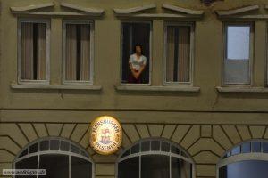 Beleuchtetes Werbeschild Flensburger Bier