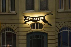 """Kneipen Schild """"Zur Katze"""""""