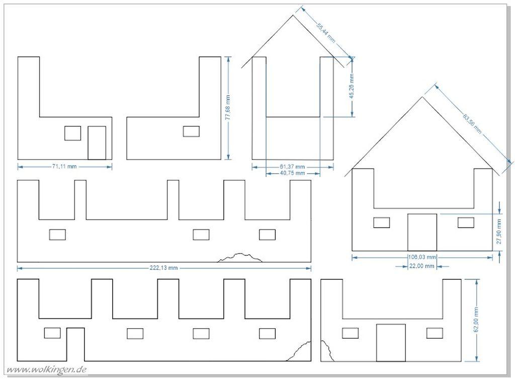 Scheune mit Stall - Corel Draw