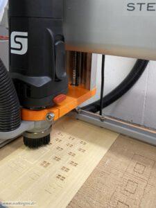 Scheune mit Stall - CNC-Fräse