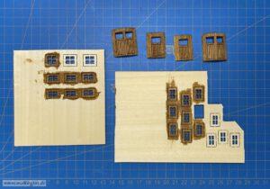 Scheune mit Stall - Fenster und Türen